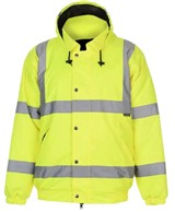 Safety Hi Vis Bomber Jacket