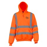 Hi Vis Hoody Orange size Small
